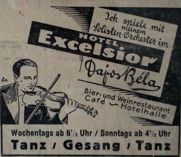 Tanzorchester Dajos Bela Le Maëstro Dajos Bela Et Son Orchestre Viennois / Odeon Orchester Grand Orchestre