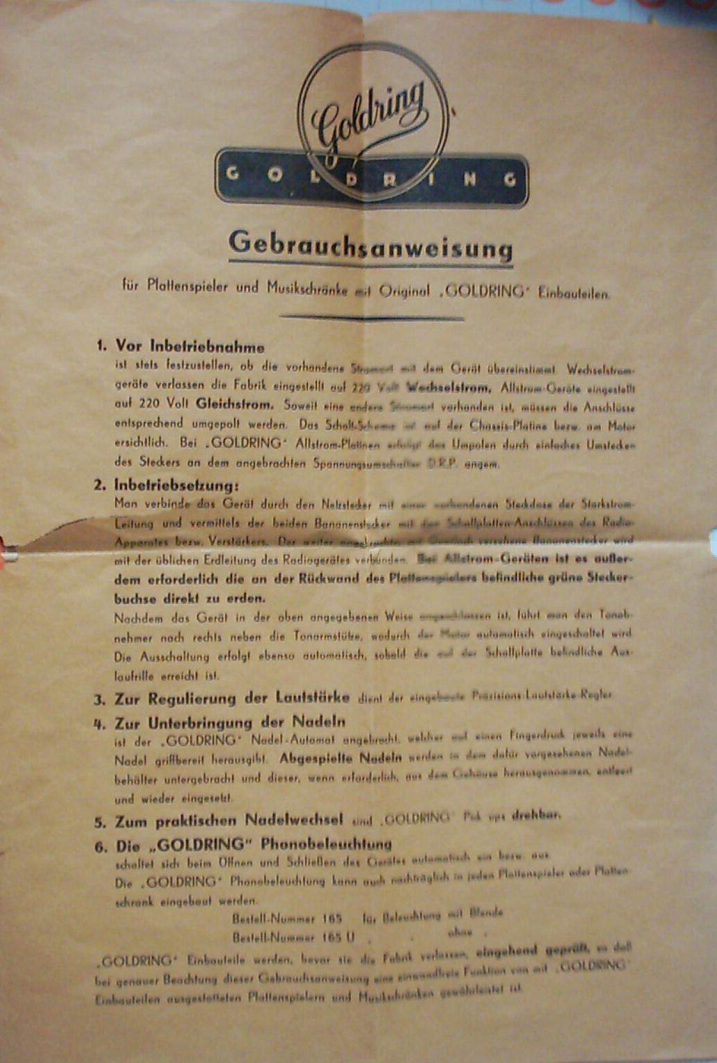 Foren / Elektro Schalldosen, Tonabnehmer und Plattenspieler ...