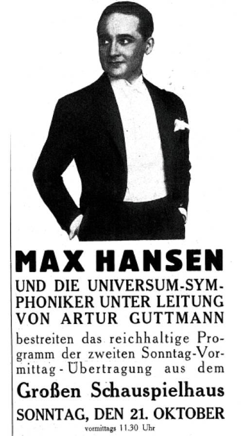Max Hansen - Offenbachiana Ur