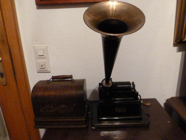 Edison-Phonographen datiert